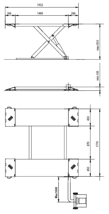 scissor VGE537 spec